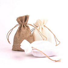 5pcs 10*15cm Hessian Candy Bag Burlap Jute /Gift Bag/Wedding Party Favors Bags