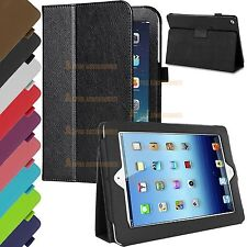 Premium PU Leather Magnetic Smart Stand Case Cover For Apple iPad Air 2 / iPad 6