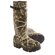 Drake LST Knee-High Mudder Rubber Boots - Waterproof 1200g Insulated Max-4 Camo