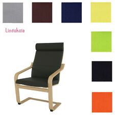 Custom Made Chair Cover,  Fits IKEA Poang Chair, Replace Armchair Cover