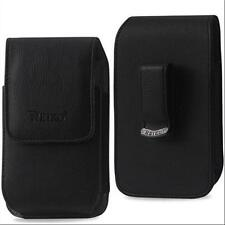 Vertical Phone Case Leather Pouch Holster Belt Clip  6.85x3.74x0.59 w Stylus