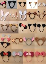 ANIMAL EARS / BOW / PARTY / FANCY DRESS / ALICE BAND, HEN NIGHT, BOOK DAY, CLUB