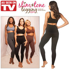 NEW NWT (Set of 3) Slim And Tone Leggings- Smooth and Tone Your Look