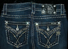 "$112 MISS ME ""WESTERN MID RISE GOLD STITCH"" SKINNY JEAN (LAST PAIRS IN STOCK)"