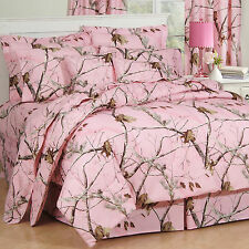 Wildon Home ® Camo Comforter Set in Pink