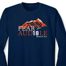 Fear The Audible Funny Peyton T-shirt Manning #18 Omaha Broncos Long Sleeve Tee