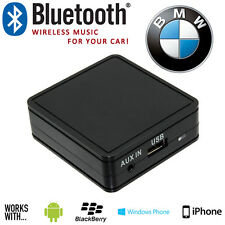 BMW Car Stereo iPhone Bluetooth Aux In Music Adaptor With USB Phone Charging