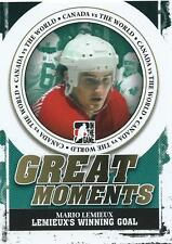 11-12 ITG CANADA VS THE WORLD GREAT MOMENTS INSERTS U-PICK FROM LIST