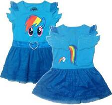 My Little Pony Rainbow Dash Costume Licensed NWT Toddler Girls T-Shirt Dress