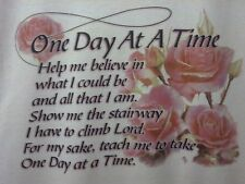 One Day At A Time Prayer S-5X Witness Tee Jesus Christ Lord God T-Shirt o.