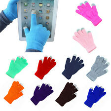 NewTouch Screen Gloves Smartphone Texting Stretch Adult One Size Winter Knit