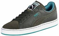 Puma Men's Suede Classic Lux Shoes-Forest Night/Greenlake