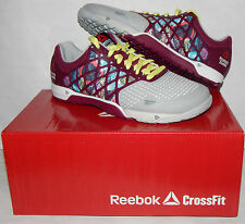 Reebok Crossfit Nano 4.0 Women's Shoes Sticker Rebel Berry NEW M47338 NEW SIZES