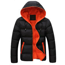 CHEAPEST FOR XMAS Men's Warm Winter Hooded Coats Thicken Jackets Outwear Parka