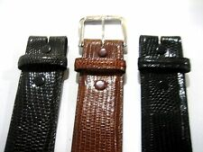 "Genuine lizard belt size's 26 to 46 for 1-1/2"" buckle, SHANTPETER MADE IN U.S.A."