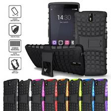 Impact Tough Rugged Dual Layer Hard Box Case Cover w/ Kick Stand for OnePlus One