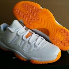 "NIKE AIR JORDAN RETRO 11 LOW  PREORDER 1Y-7Y ""CITRUS"" GS EXCLUSIVE!!!"
