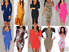 Hot Women Clubwear Sexy Clothes Cocktail Party Ladies Bandage Bodycon Maxi Dress
