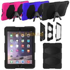 Ipad Air 2 Survivor Defender Series Fingerprint Hybrid Hard Case Kids ShockProof