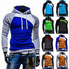 2014 Hot Men's Top Designed Slim Fit Hoody Coat Jacket Zip Hoodies Casual Tops