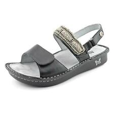 Alegria Verona Womens Open Toe Leather Slides Sandals Shoes Used