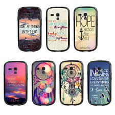 Hope Dream Catcher Anchor TPU Bumper TPU Hard Case For Samsung GalaxyS3 S4 mini