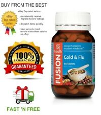 FUSION HEALTH - COLD & FLU - ALL SIZES - ECHINACEA + HERBS + FREE SHIPPING