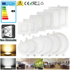 6W 9W 12W 15W 18W 21W CREE LED Recessed Ceiling Panel Down Light Fixture Lamp