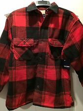 NWT Men's Basic Editions Outerwear Plaid Fleece Furry Lined Jacket SIZES S-2XL