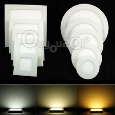 9W 12W 15W 18W 21W CREE LED Recessed Ceiling Panel Down Light Bulb Lamp + Driver