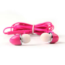 Handsfree Earphone 3.5mm Headset For Phone Samsung S5 Volume Control With Mic