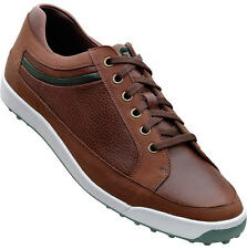 FootJoy Contour Casual Spikeless Golf Shoes Dark Brown Mens Closeout 54275 New