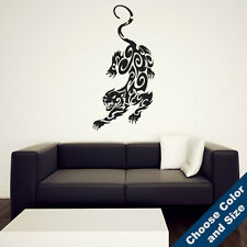 Tribal Panther Wall Decal -Vinyl Sticker