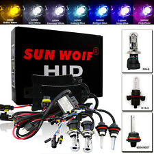 HID Bi-Xenon Headlight Conversion KIT H1 H3 H7 9006 H4-3 9004/7 H13 Hi/Low 6000K