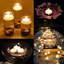 Colorful Watter Floating Candle Decor Home Hotel Festival Party Wedding Romantic