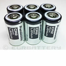 LOT Panasonic CR2 Industrial Lithium 3V Battery for ELCR2 DLCR2 FRESH EXP 2024