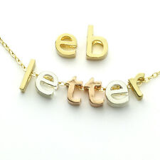 Lowercase Alphabet Letter Beads for Personalized Initial Jewelry, Lots of 28 pcs