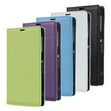 Magnet Closed Upon Wallet  Leather Phone Case Cover For Samsung Galaxy
