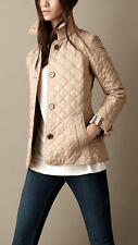 Burberry Brit women's new chino copford diamond quilted jacket  xs,s,m,l xl