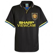 Manchester United Football Club Official Soccer Gift 1994 Retro Away Shirt