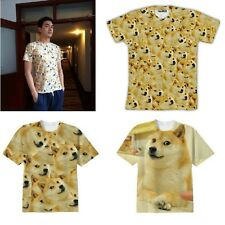 Popular Doge Much Wow Such Face Meme Funny DOG Shiba Inu Reddit TEE T SHIRT hz1