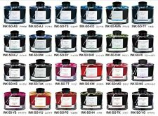 PIlot Iroshizuku 24Color Bottled Fountain Pen Ink  50ml