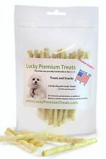 Rawhide Chews Natural Dog Treats for S Size Dogs, Made in USA, Chicken Flavor
