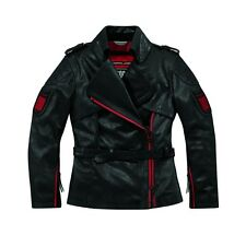 Icon 1000 Federal Womens Leather Jacket Pursuit Black