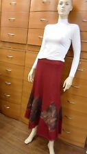 WOOL SKIRT LONG LINED MADE IN EUROPE UNIQUE 4 6 8 10 12 14 16 18 20 22 24