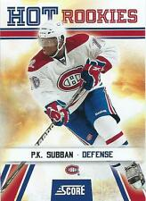 10-11 PANINI SCORE MONTREAL CANADIENS RC'S - GLOSSY - INSERTS U-PICK FROM LIST