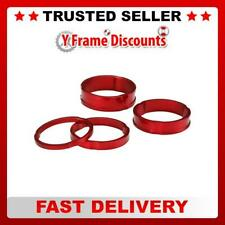 """Acor 1.1/8"""" CNC Alloy Headset Spacers Set of 4 Spacers 3 / 5 / 8 / 10mm"""