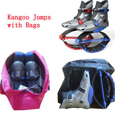 Kangoo jumps jumping shoes fitness bounce shoes outdoor sports sneakers with bag