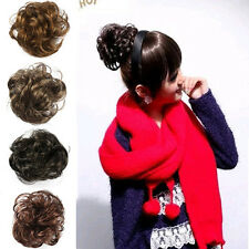 Ponytail Holders Piece Bun Pony Tail Extensions Hairpiece