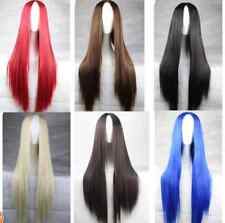 Fashion Long Straight Women's  Full Wigs Long Cosplay Party Wigs Free Shipping